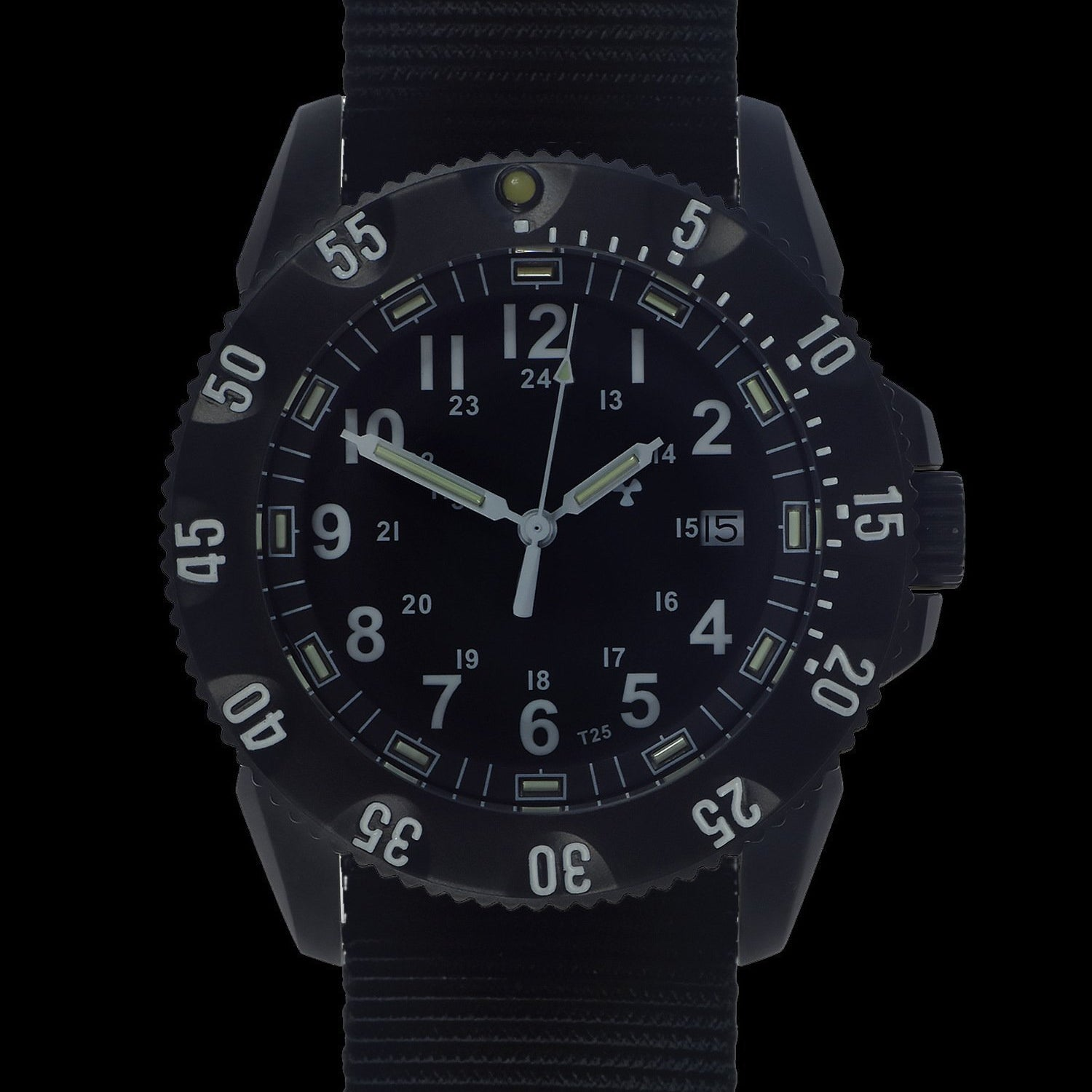 MWC P656 Tactical Series Watch with GTLS Tritium Automatic Sapphire Crystal (Date Version)