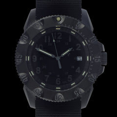MWC P656 Tactical Series Watch with GTLS Tritium, Subdued Dial, Automatic Sapphire Crystal (Date Version)