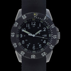 MWC P656 Tactical Series Watch with GTLS Tritium, 24 Jewel Automatic Sapphire Crystal (Date Version)