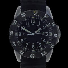 MWC P656 Tactical Series Watch with GTLS Tritium Quartz (Non Date)