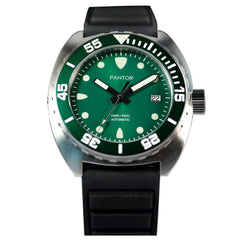 Pantor Sea Lion Automatic Divers Watch Green 300M