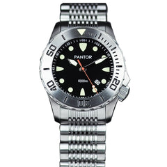Pantor Seahorse Steel Bezel Automatic Divers Watch 1000M