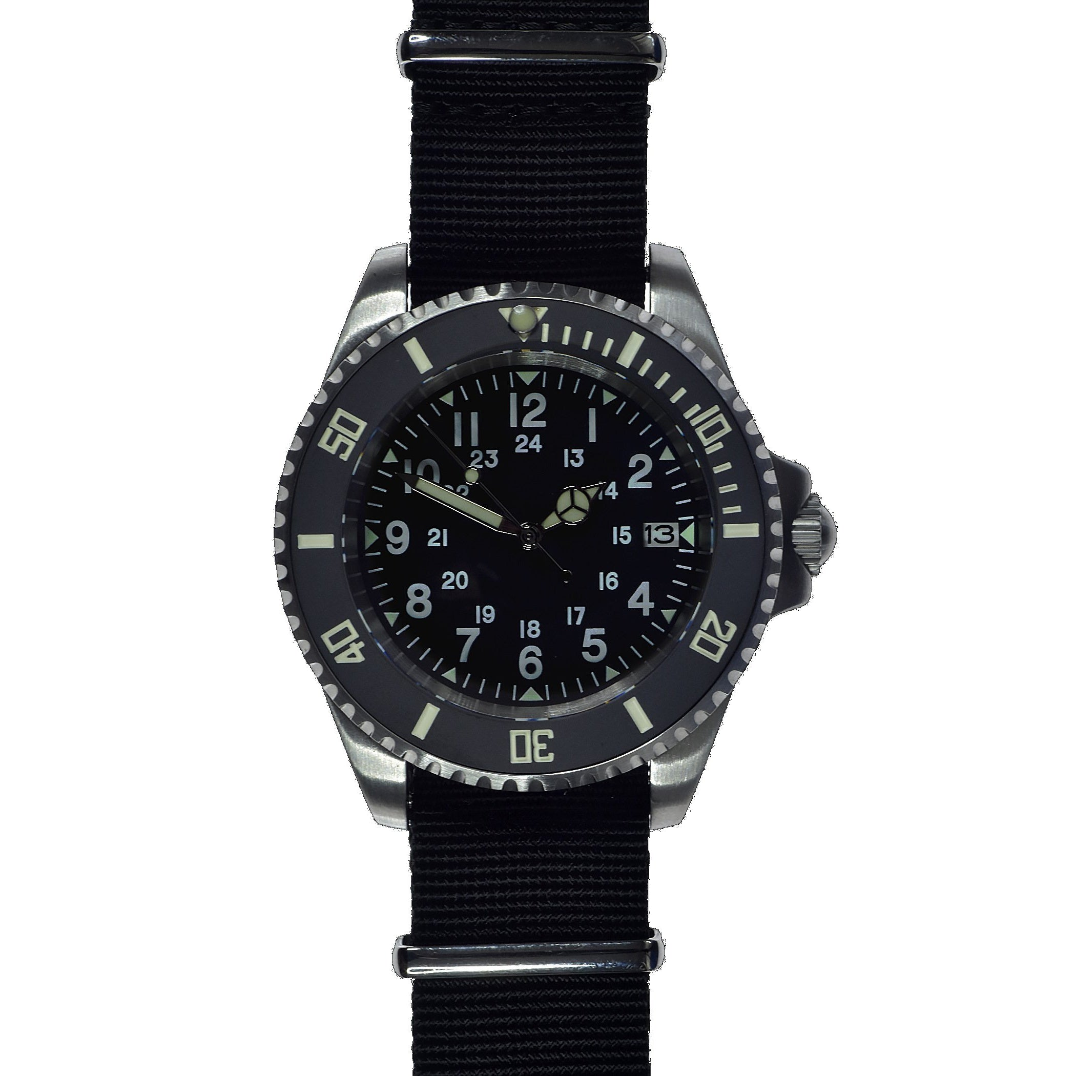 MWC 24 Jewel U.S Pattern 300m Automatic Military Divers Watch
