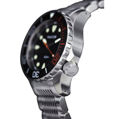 Pantor Seahorse Black Bezel Automatic Divers Watch 1000M - Watchfinder General - UK suppliers of Russian Vostok Parnis Watches MWC G10  - 2