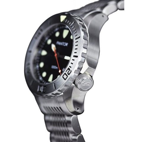 Pantor Seahorse Steel Bezel Automatic Divers Watch 1000M - Watchfinder General - UK suppliers of Russian Vostok Parnis Watches MWC G10  - 2
