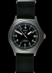 MWC 45th Anniversary Limited Edition Titanium Military Watch -300m Water with Luminova and Sapphire Crystal