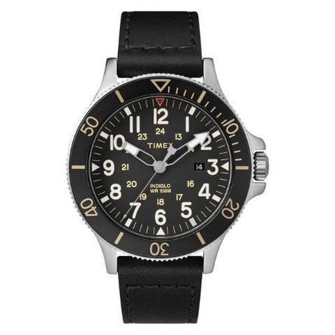 Timex Allied Coastline Watch with Leather Strap - TW2R45800D7PF