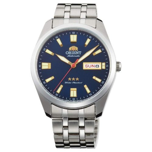 Orient Three Star Automatic Watch with Stainless Steel Bracelet RA-AB0019L19B