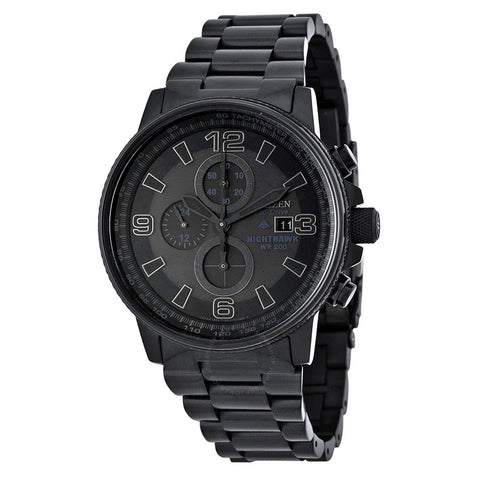 Citizen Eco-Drive Nighthawk Chronograph Watch - CA0295-58E