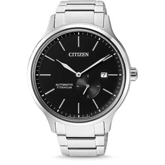 Citizen Titanium Automatic Watch with Titanium Bracelet - NJ0090-81E