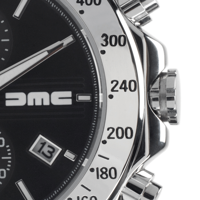 DMC 1981 BLACK CHRONOGRAPH
