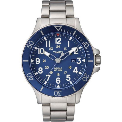 Timex Allied Coastline Watch with Leather Strap - TW2R46000