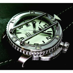 Sturmanskie Ocean Stingray Automatic Watch NH35/1825898 - Watchfinder General - UK suppliers of Russian Vostok Parnis Watches MWC G10  - 4
