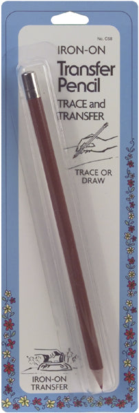 Iron-On Transfer Pencil-Red