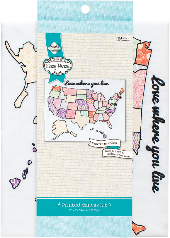 Needle Creations Easy Peasy Embroidery Kit 8