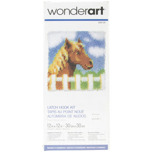 "Pony Wonderart Latch Hook Kit 12""X12"""