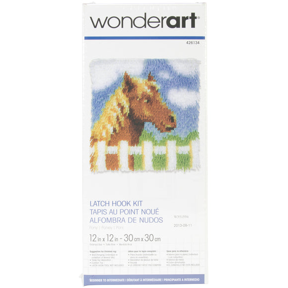Pony Wonderart Latch Hook Kit 12