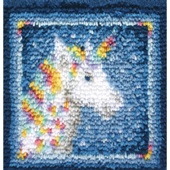 Unicorn Wonderart Latch Hook Kit 12