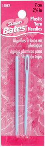 "2.75"" 2/Pkg Bates Plastic Yarn Needles"