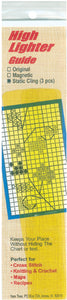 "Yellow Yarn Tree Static Cling High Lighter Guides 6""X1"" 3/Pkg"