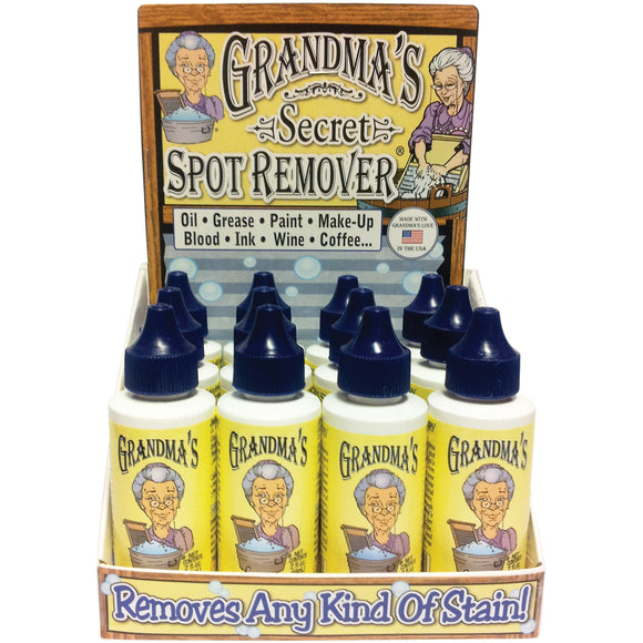 Grandma's Secret Spot Remover 16pc POP Display-2oz
