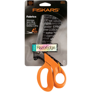 "Fiskars RazorEdge Tabletop Fabric Shears 8""-"