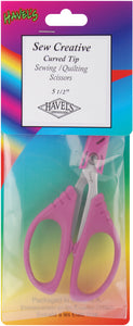 "Havel's Sew Creative Curved Tip Scissors 5.5""-"