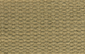 "Products From Abroad 100% Cotton Webbing 1""X22yd-Beige"