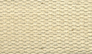 "Products From Abroad 100% Cotton Webbing 1""X22yd-Ivory"