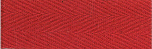 "Products From Abroad 100% Cotton Twill Tape 1.125""X55yd-Red"