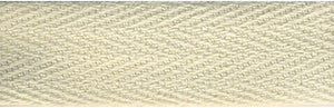 "Products From Abroad 100% Cotton Twill Tape 1.125""X55yd-Cream"