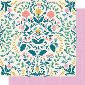 "Maggie Holmes Willow Lane Double-Sided Cardstock 12""X12""-Sentiment"
