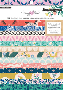 "Crate Paper Single-Sided Card Making Pad 6""X8"" 36/Pkg-Maggie Holmes Willow Lane"