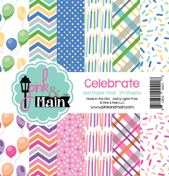 Pink & Main Double-Sided Paper Pad 6