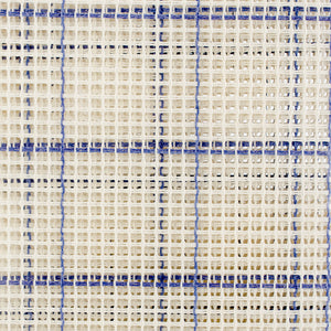"Zweigart Rug Canvas 24""X30"" 3.75 Mesh-24""X30"" Blue Checked"