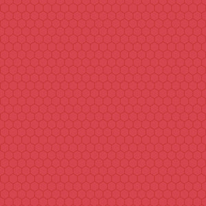 "Core'dinations Core Basics Patterned Cardstock 8.5""X11""-Red-Honeycomb"