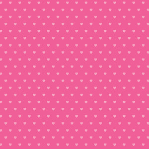 "Core'dinations Core Basics Patterned Cardstock 8.5""X11""-Dark Pink-Hearts"