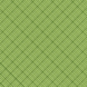 "Core'dinations Core Basics Patterned Cardstock 8.5""X11""-Light Green-Plaid"