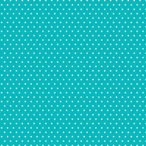 "Core'dinations Core Basics Patterned Cardstock 8.5""X11""-Teal-Small Dot"