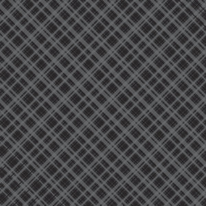 "Core'dinations Core Basics Patterned Cardstock 8.5""X11""-Black-Plaid"