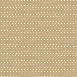 "Core'dinations Core Basics Patterned Cardstock 8.5""X11""-Kraft-Small White Dot"