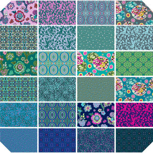 "24 pcs Night Music-Amy Butler- 18""X21"" Fat Quarters- Print-Material"