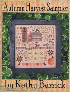 Kathy Barrick Autumn Harvest Sampler Counted Cross Stitch Pattern