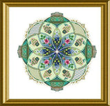 Chatelaine Designs A-Mazing Marie Antoinette's Rose Garden Caleidoscope Counted Cross Stitch Pattern
