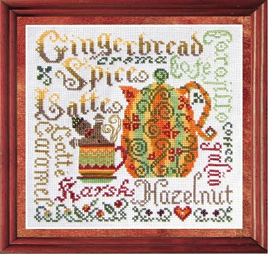 Tempting Tangles Autumn Aromas Counted Cross Stitch Pattern