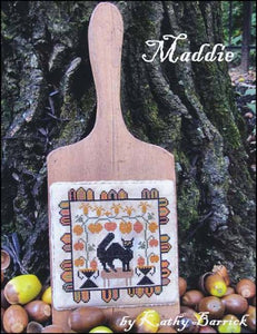 Kathy Barrick Maddie Counted Cross Stitch Pattern