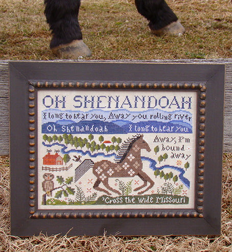 Carriage House Samplings Shenandoah Counted Cross Stitch Pattern