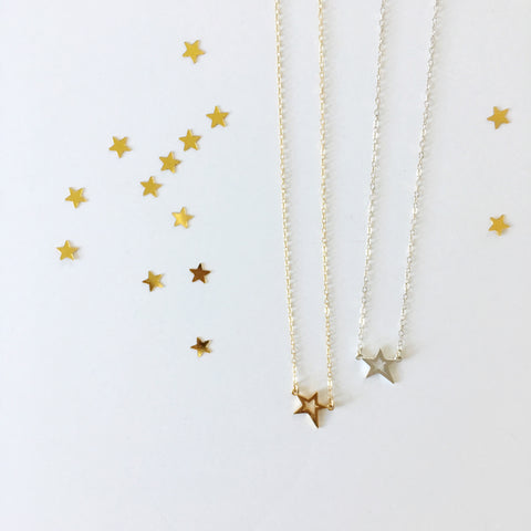 Simple Shooting Star Necklace