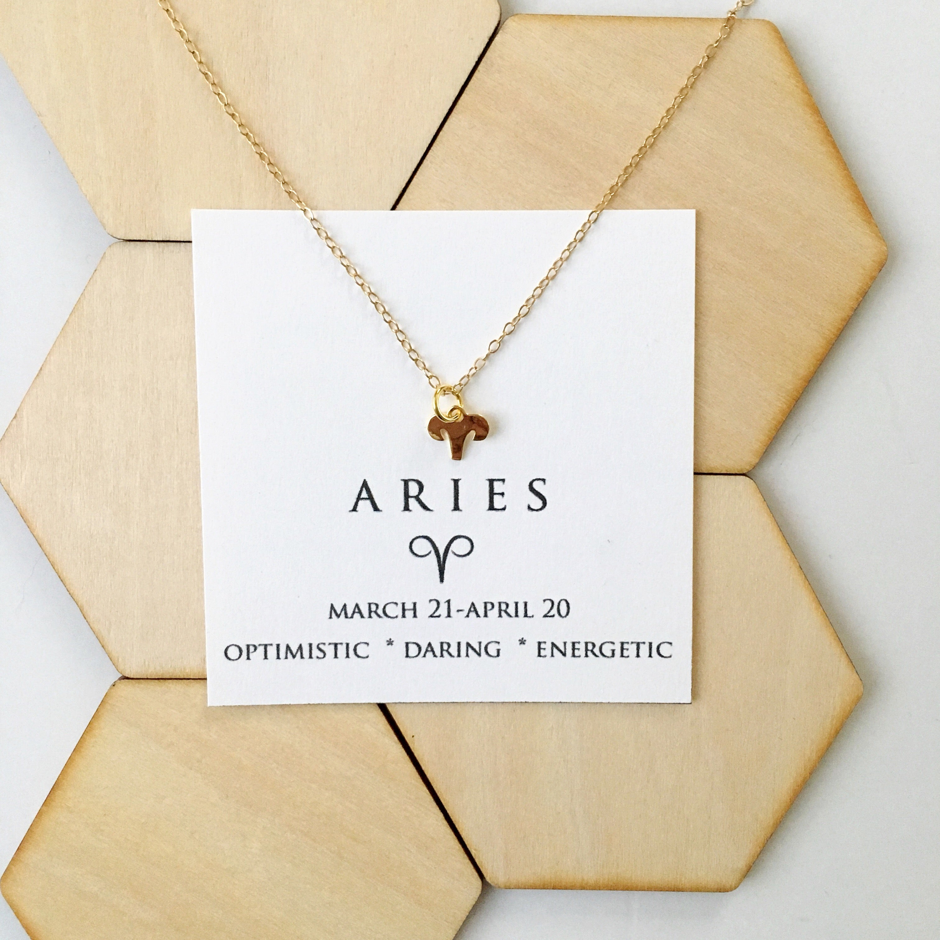 aries necklace astrology