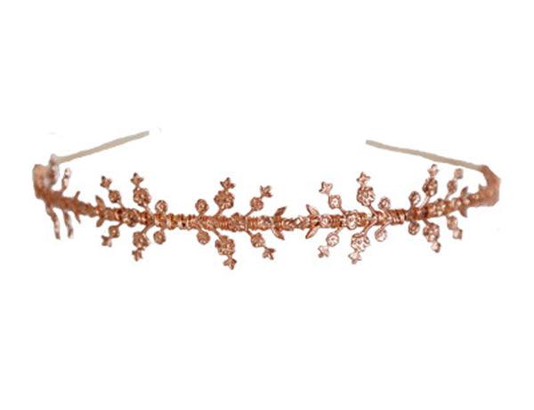 Delicate Blossoms Headband - Half or Full Size